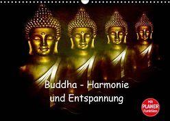 Buddha – Harmonie und Entspannung (Wandkalender 2019 DIN A3 quer) von Axon und Claudia Burlager,  Julia