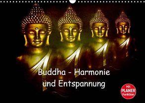 Buddha – Harmonie und Entspannung (Wandkalender 2019 DIN A3 quer)