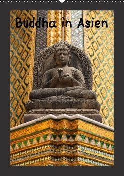 Buddha in Asien (Wandkalender 2018 DIN A2 hoch) von Meilahn,  Uwe