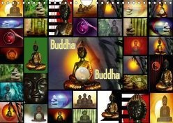Buddha (Wandkalender 2018 DIN A4 quer) von Burlager,  Claudia