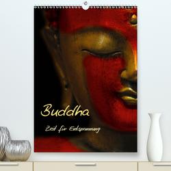 Buddha – Zeit für Entspannung (Premium, hochwertiger DIN A2 Wandkalender 2020, Kunstdruck in Hochglanz) von Burlager,  Claudia