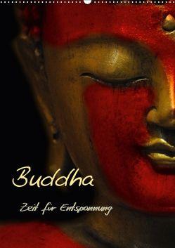 Buddha – Zeit für Entspannung (Wandkalender 2018 DIN A2 hoch) von Burlager,  Claudia