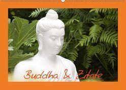 Buddha & Zitate (Wandkalender 2018 DIN A2 quer) von Stanzer,  Elisabeth