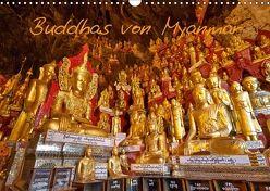 Buddhas von Myanmar / CH-Version (Wandkalender 2018 DIN A3 quer) von Ritterbach,  Jürgen