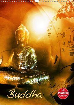 Buddhismus (Wandkalender 2019 DIN A3 hoch) von Burlager,  Claudia