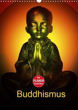 Buddhismus (Wandkalender 2019 DIN A3 hoch) von Axon und Claudia Burlager,  Julia