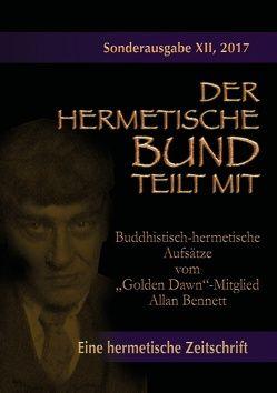 """Buddhistisch-hermetische Aufsätze vom """"Golden Dawn""""-Mitglied Allan Bennett von Bennett,  Allan"""