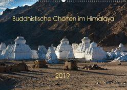 Buddhistische Chörten im Himalaya (Wandkalender 2019 DIN A2 quer) von Koenig,  Jens