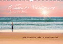 Buddhistische Weisheiten 2019. Sprichwörter in Bildern (Wandkalender 2019 DIN A3 quer) von Lehmann (Hrsg.),  Steffani
