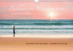 Buddhistische Weisheiten 2019. Sprichwörter in Bildern (Wandkalender 2019 DIN A4 quer) von Lehmann (Hrsg.),  Steffani
