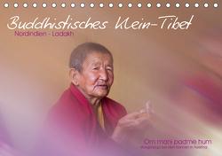 Buddhistisches Klein-Tibet (Tischkalender 2021 DIN A5 quer) von Esser,  Barbara