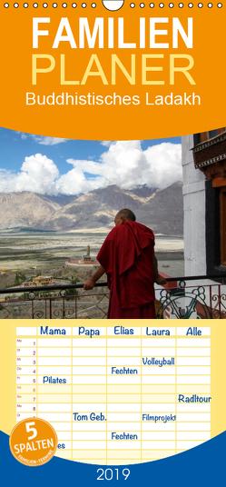 Buddhistisches Ladakh – Familienplaner hoch (Wandkalender 2019 , 21 cm x 45 cm, hoch) von Gruse,  Sven
