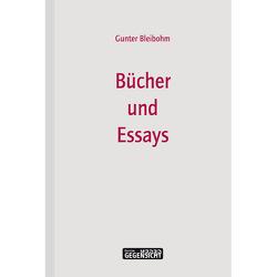 Bücher und Essays von Bleibohm,  Gunter