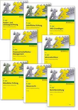 Bücherpaket 5 vor Bilanzbuchhalterprüfung – Prüfungsteile A, B und C