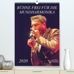 Bühne frei für die Mundharmonika (Premium, hochwertiger DIN A2 Wandkalender 2020, Kunstdruck in Hochglanz) von Rohwer,  Klaus
