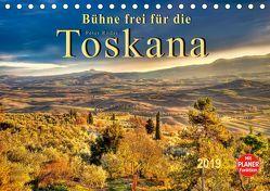 Bühne frei für die Toskana (Tischkalender 2019 DIN A5 quer) von Roder,  Peter
