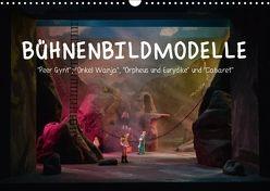 Bühnenbildmodelle (Wandkalender 2018 DIN A3 quer) von Tasche,  Pia