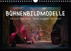 Bühnenbildmodelle (Wandkalender 2018 DIN A4 quer) von Tasche,  Pia