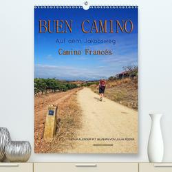 Buen Camino – Auf dem Jakobsweg – Camino Francés (Premium, hochwertiger DIN A2 Wandkalender 2020, Kunstdruck in Hochglanz) von Roder,  Peter