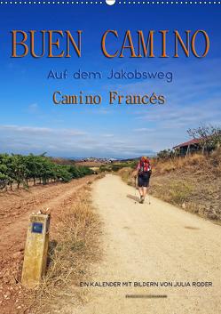 Buen Camino – Auf dem Jakobsweg – Camino Francés (Wandkalender 2019 DIN A2 hoch) von Roder,  Peter