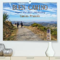 Buen Camino – pilgern auf dem Jakobsweg – Camino Francés (Premium, hochwertiger DIN A2 Wandkalender 2020, Kunstdruck in Hochglanz) von Roder,  Peter