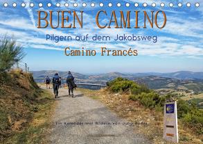 Buen Camino – pilgern auf dem Jakobsweg – Camino Francés (Tischkalender 2020 DIN A5 quer) von Roder,  Peter
