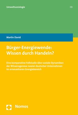 Bürger-Energiewende: Wissen durch Handeln? von David,  Martin