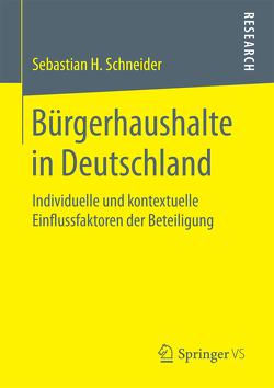 Bürgerhaushalte in Deutschland von Schneider,  Sebastian H.
