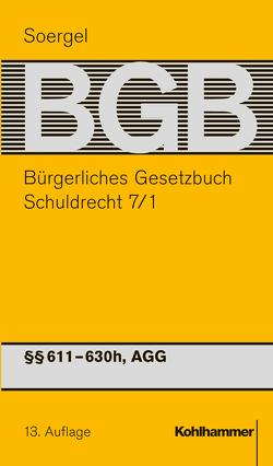 Bürgerliches Gesetzbuch mit Einführungsgesetz und Nebengesetzen (BGB) von Raab,  Thomas, Soergel,  Hans-Theodor