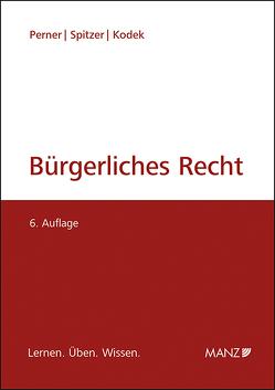 Bürgerliches Recht von Kodek,  Georg E., Perner,  Stefan, Spitzer,  Martin