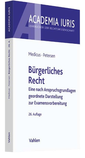 Bürgerliches Recht von Medicus,  Dieter, Petersen,  Jens