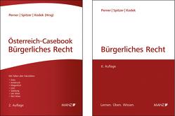 Bürgerliches Recht 6. Aufl inkl. Glossar + Österreich-Casebook Bürgerliches Recht 2. Aufl von Kodek,  Georg E., Perner,  Stefan, Spitzer,  Martin