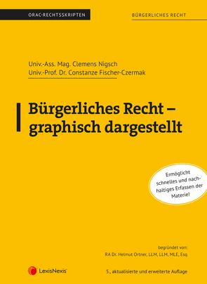 Bürgerliches Recht – graphisch dargestellt (Skriptum) von Fischer-Czermak,  Constanze, Nigsch,  Clemens, Ortner,  Helmut