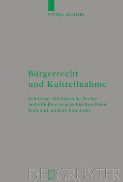 Bürgerrecht und Kultteilnahme von Krauter,  Stefan