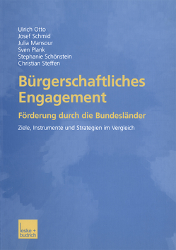 Bürgerschaftliches Engagement von Mansour,  Julia, Otto,  Ulrich, Plank,  Sven, Schmid,  Josef, Schönstein,  Stephanie, Steffen,  Christian