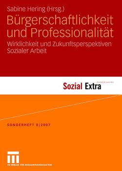 Bürgerschaftlichkeit und Professionalität von Hering,  Sabine