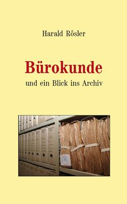 Bürokunde (Paperback) von Rösler,  Harald