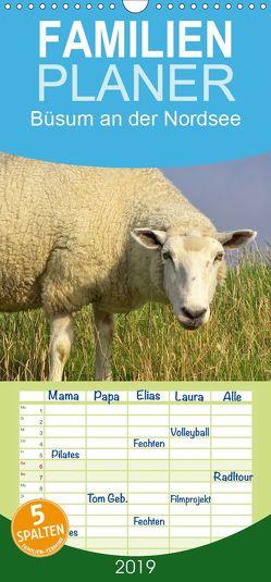 Büsum an der Nordsee – Familienplaner hoch (Wandkalender 2019 , 21 cm x 45 cm, hoch) von DESIGN Photo + PhotoArt,  AD, Dölling,  Angela