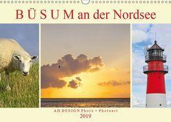 Büsum an der Nordsee (Wandkalender 2019 DIN A3 quer) von DESIGN Photo + PhotoArt,  AD, Dölling,  Angela