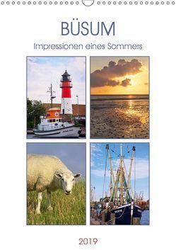 Büsum – Impressionen eines Sommers (Wandkalender 2019 DIN A3 hoch) von DESIGN Photo + PhotoArt,  AD, Dölling,  Angela