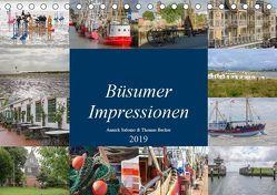 Büsumer Impressionen (Tischkalender 2019 DIN A5 quer) von DeBillermoker