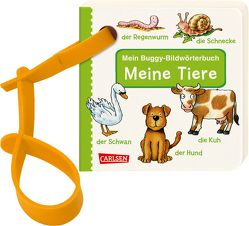 Buggy-Bücher: Mein Buggy-Bildwörterbuch: Meine Tiere von Fischer,  Lucia, Silveira,  Gabriela