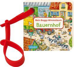 Buggy-Bücher: Mein Buggy-Wimmelbuch: Bauernhof von Hofmann,  Julia, Krause,  Joachim