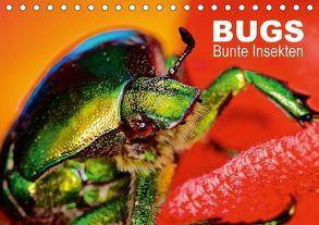 BUGS, Bunte Insekten (Tischkalender 2018 DIN A5 quer) von Bertolini,  Hannes