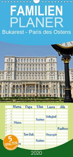 Bukarest – Paris des Ostens – Familienplaner hoch (Wandkalender 2020 , 21 cm x 45 cm, hoch) von Boensch,  Barbara