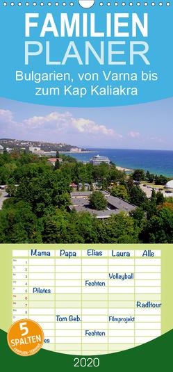 Bulgarien, von Varna bis zum Kap Kaliakra – Familienplaner hoch (Wandkalender 2020 , 21 cm x 45 cm, hoch) von Witkowski,  Bernd