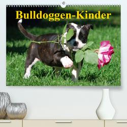 Bulldoggen-Kinder (Premium, hochwertiger DIN A2 Wandkalender 2020, Kunstdruck in Hochglanz) von Stanzer,  Elisabeth