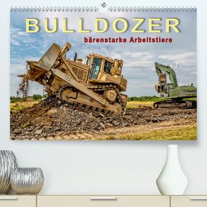 Bulldozer – bärenstarke Arbeitstiere (Premium, hochwertiger DIN A2 Wandkalender 2020, Kunstdruck in Hochglanz) von Roder,  Peter