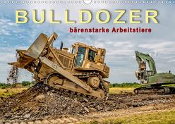 Bulldozer – bärenstarke Arbeitstiere (Wandkalender 2020 DIN A3 quer) von Roder,  Peter