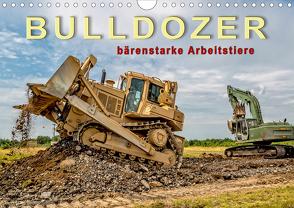 Bulldozer – bärenstarke Arbeitstiere (Wandkalender 2021 DIN A4 quer) von Roder,  Peter
